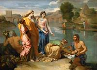 Nicolas Poussin - Moses Saved from the Water [1638