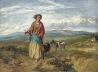 Paul Falconer Poole the goat herders daughter