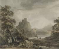 Paul Sandby R.A. , A MOUNTAINOUS LANDSCAPE WITH A
