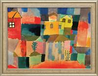 Paul Klee, Houses on the Sea (1914)