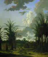 Plantation in Suriname, Dirk Valkenburg, 1707