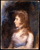 Porrtrait of Eleanor Parke Custis by James Sharple
