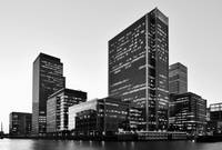 London Docklands Monochrome