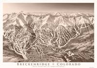 Breckenridge as Sepia Print