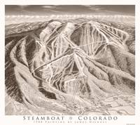 Steamboat as Sepia print