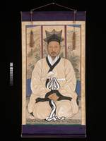 Portrait of a scholar , Chae Yongsin
