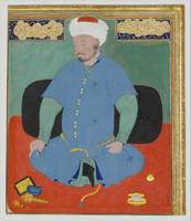 Portrait of Muhammad Khan Shaibani, the Uzbek (d.1