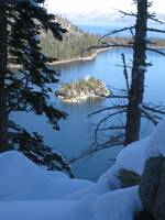 Fannette Island at Emerald Bay