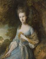 Portrait of Sarah Buxton ca. 1776 - 1777 by Thomas