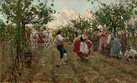 Raffaello Sorbi,  The Harvest Dance, 1893