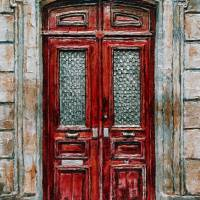 Parisian Door No. 14 Art Prints & Posters by Joey Agbayani