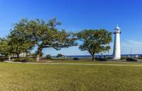 Gulf Coast Lighthouse Seascape Biloxi MS 3663A
