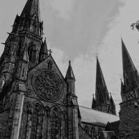 St Mary's Episcopal Cathedral Art Prints & Posters by Ian G Mclean