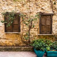 A Wall In Chania Art Prints & Posters by Rae Tucker