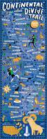 Continental Divide Trail Map by Nate Padavick by They Draw & Cook & Travel