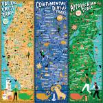 Triple Crown of Hiking by Nate Padavick Prints & Posters