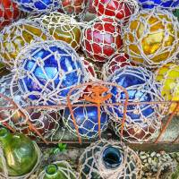 glass balls Art Prints & Posters by Kelly Parrish