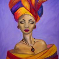 African queen Art Prints & Posters by Lilia Art