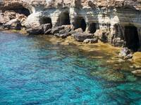Sea Caves in Cyprus
