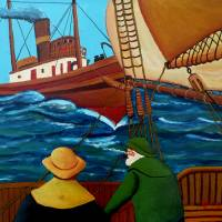 Meeting At Sea Art Prints & Posters by Anthony Dunphy