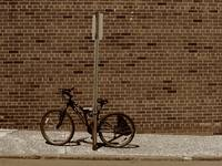 Hackensack, NJ - Bricks and Bicycle Sepia 2018