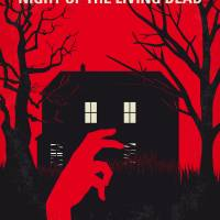No935 My Night of the Living Dead minimal movie po Art Prints & Posters by Chungkong Art