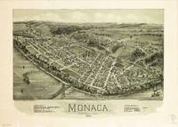 Aerial View if Monaca, Pennsylvania (1900)