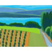 """Michigan Orchard Landscape"" by pfleghaar"
