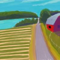 """""""Michigan Farm Landscape"""" by pfleghaar"""