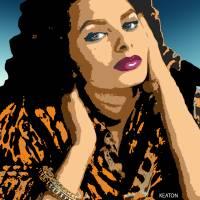 Sophia Loren Art Prints & Posters by John Keaton