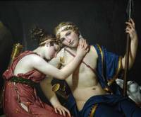 jacques-louis david, the farewell of telemachus an