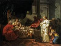 jacques-louis david, Antiochus and Stratonica (177