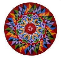 Costa Rica Oxcart Wheel
