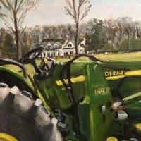 Farm in Chapel Hill, Tennessee Art Prints & Posters by Susan E Jones