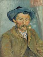 The Smoker (Le Fumeur) 1888 by Vincent van Gogh