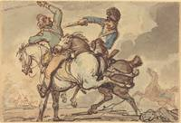 Thomas Rowlandson , Cavalry Skirmish