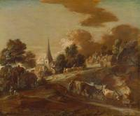 Thomas_Gainsborough_-_An_Imaginary_Wooded_Village_