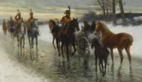 Jan Van Chelminski (Polish, 1851-1925) Napoleonic