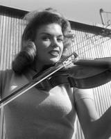 Jayne Mansfield with Violin