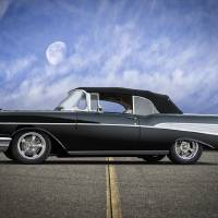 1957 Chevrolet Bel Air Convertible I Art Prints & Posters by Dave Koontz
