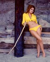 Raquel Welch in yellow bikini