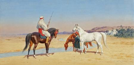 John Alexander Harrington Bird - Desert Rider 1905