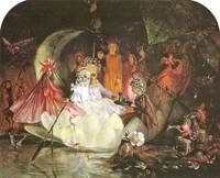 John Anster Fitzgerald - The Fairy's Barque