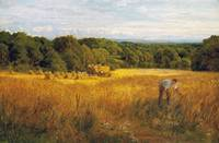 John Clayton Adams - A Golden Harvest 1889