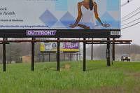 Yoga and Lottery Billboards- Manalapan, New Jersey