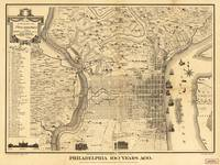 Map of Philadelphia 100 Years Ago (published 1875)