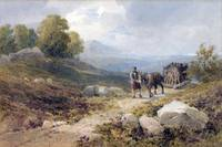 John Henry Mole - Bringing Peat, the Highlands