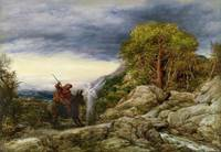 John Linnell - The Prophet Balaam and the Angel 18