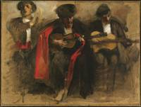 John Singer Sargent, Seated Musicians