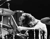Keith Moon At Tanglewood Music Shed On July 7 1970